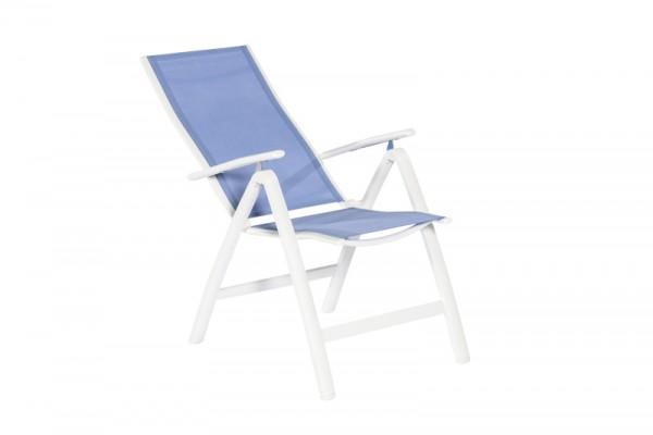 monaco klappsessel blau gartenm bel ambiente. Black Bedroom Furniture Sets. Home Design Ideas